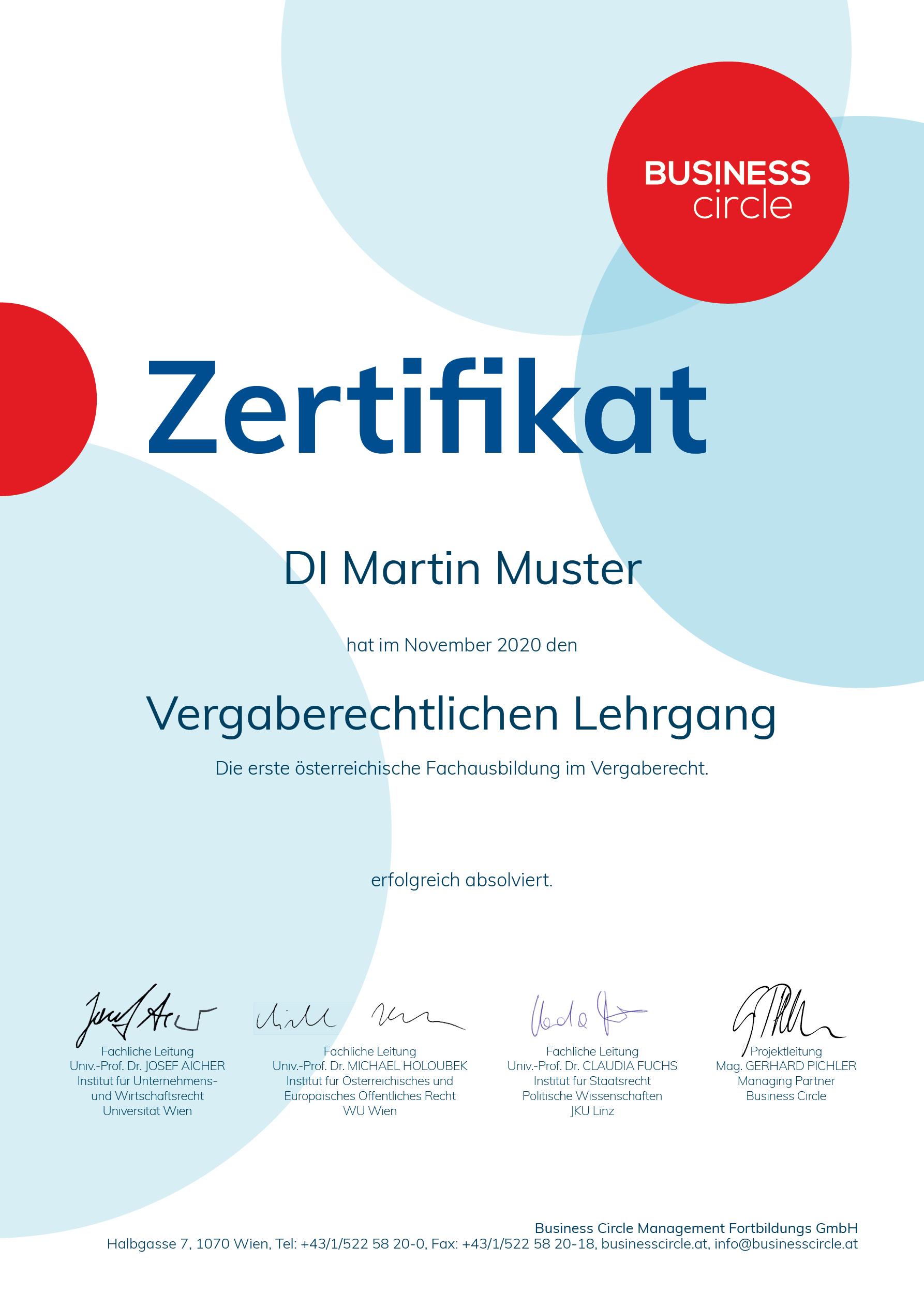VergabeLG2011 Zertifikat1