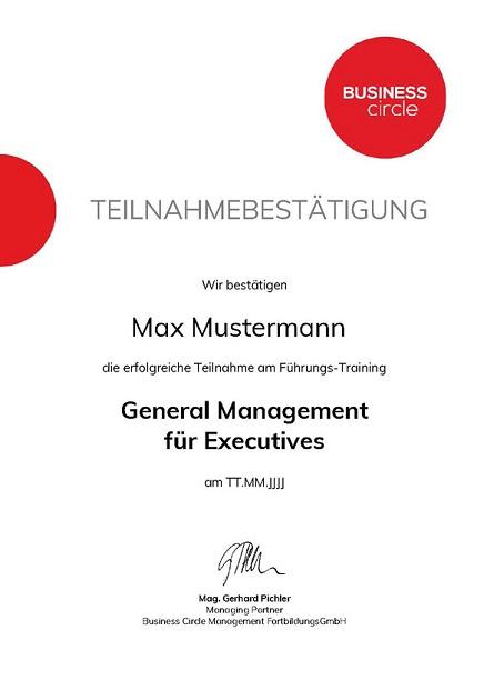 GeneralManagement Zertifikat2