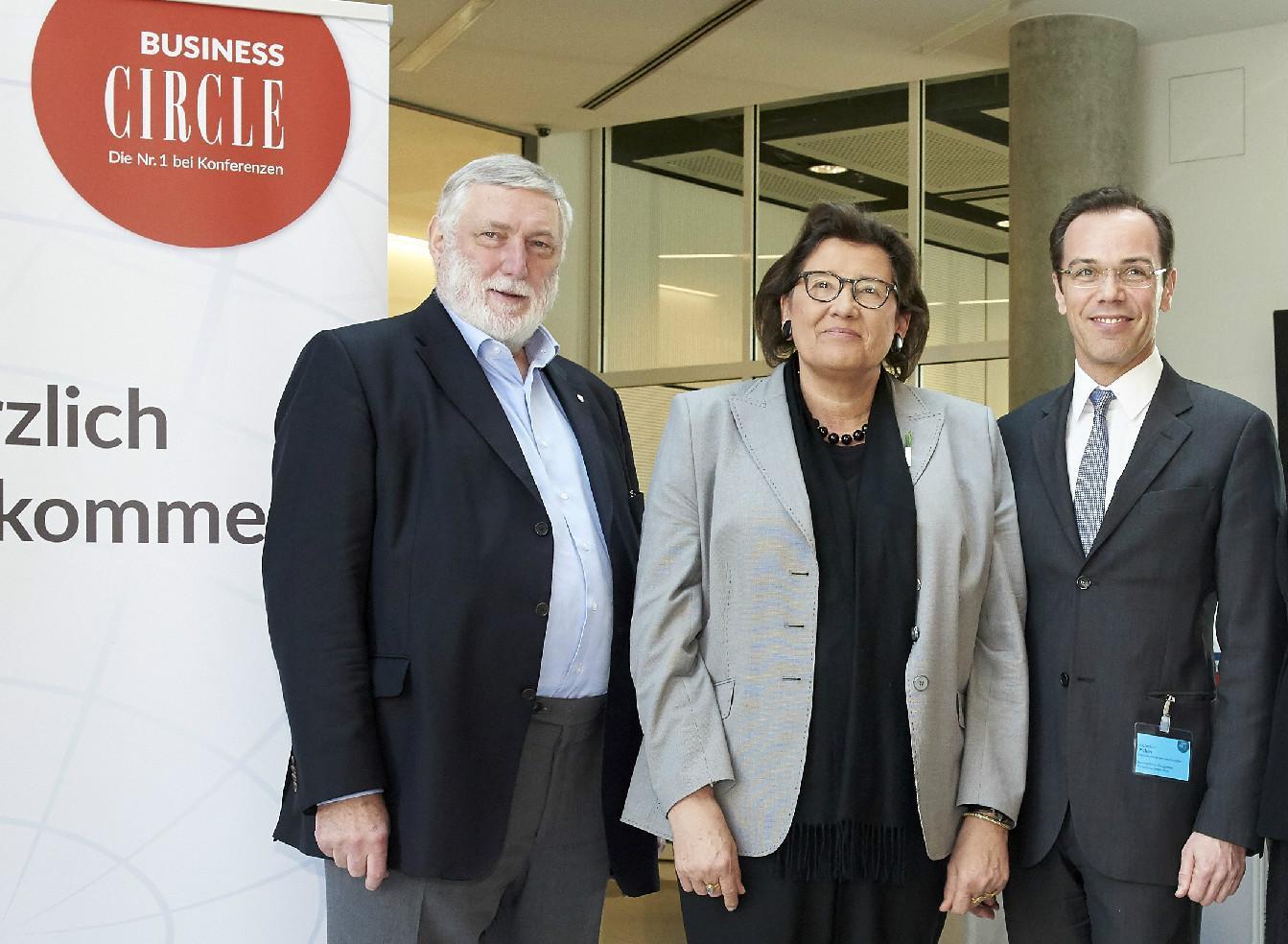 Franz Fischler, Hannelore Daniel, Gerhard Pichler